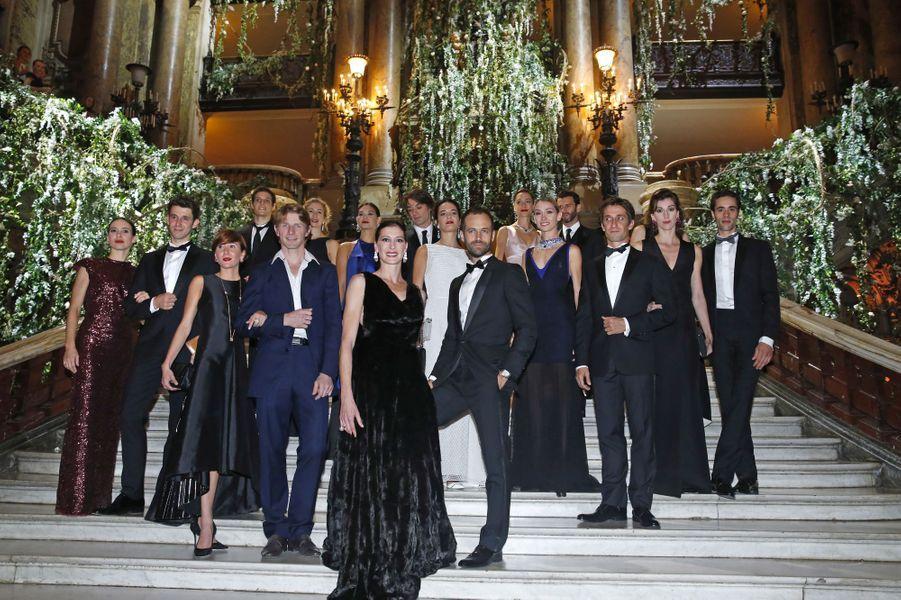 Benjamin Millepied pose lors du Gala d'ouverture de la nouvelle saison de l'Opéra de Paris, le 24 septembre 2015