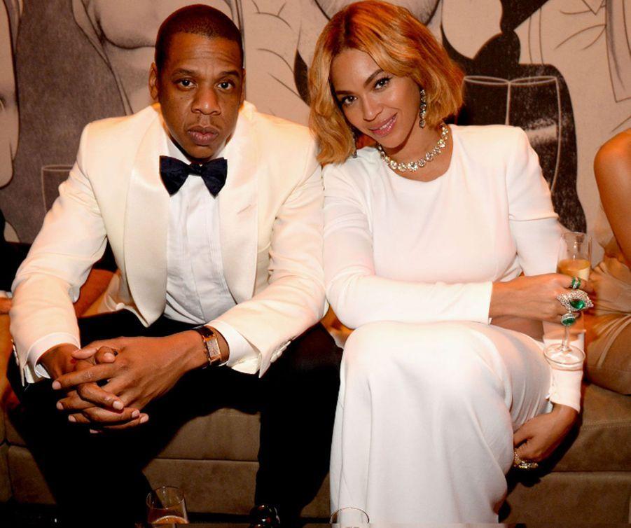 Beyoncé et Jay Z en 2015