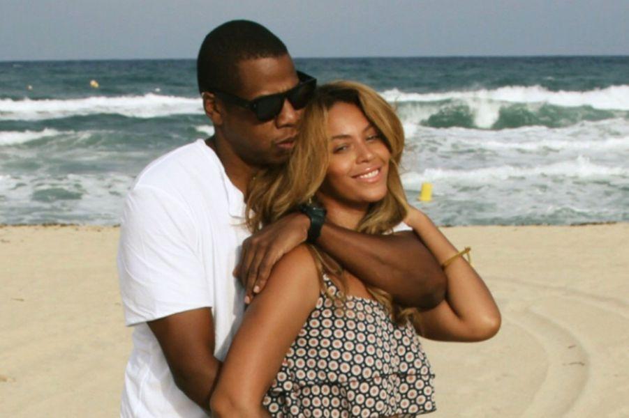 Jay Z et Beyoncé, en vacances en 2014