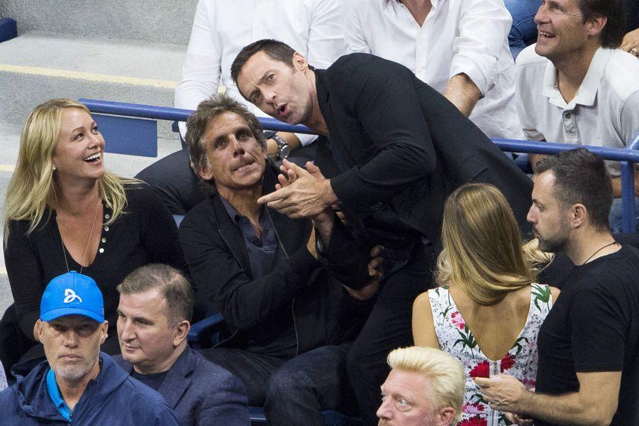 Ben Stiller et Hugh Jackman