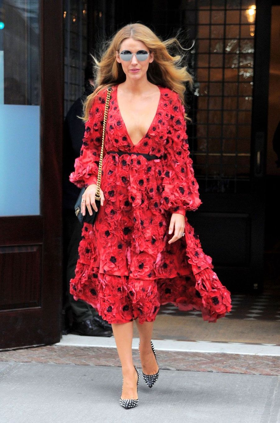 Blake Lively à New York le 17 février 2016