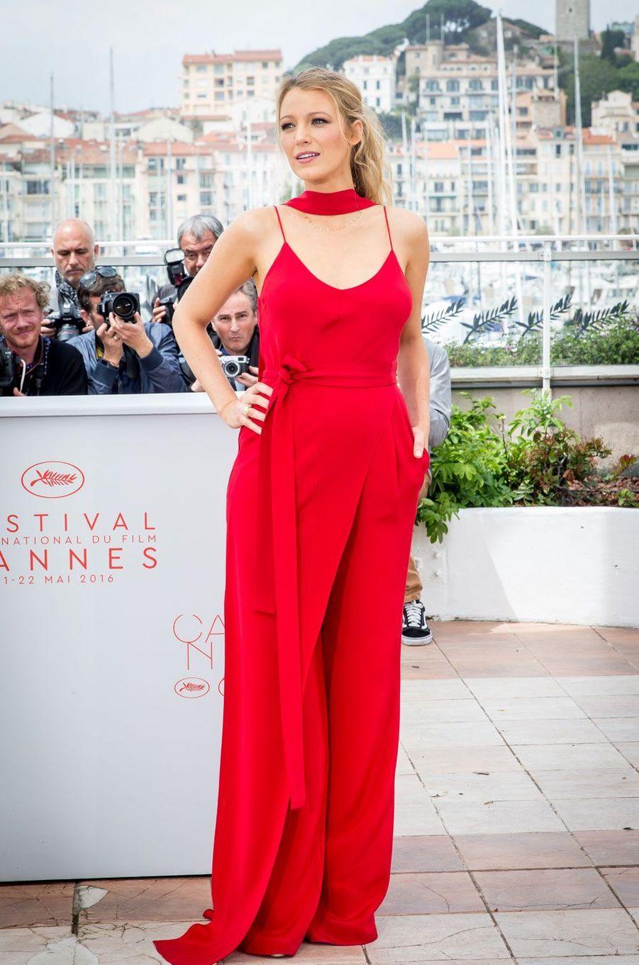 Blake Lively au Festival de Cannes le 11 mai 2016