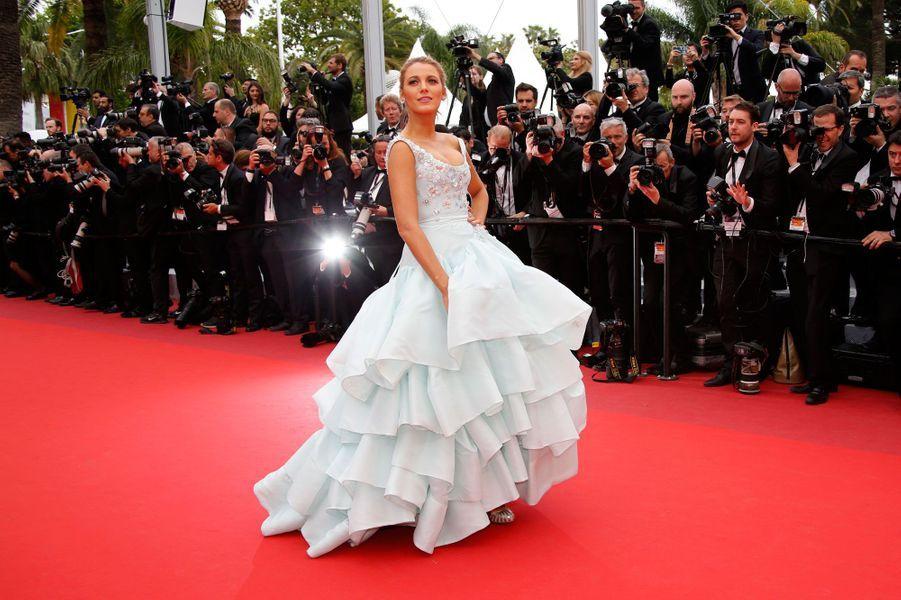 Blake Lively au Festival de Cannes le 13 mai 2016