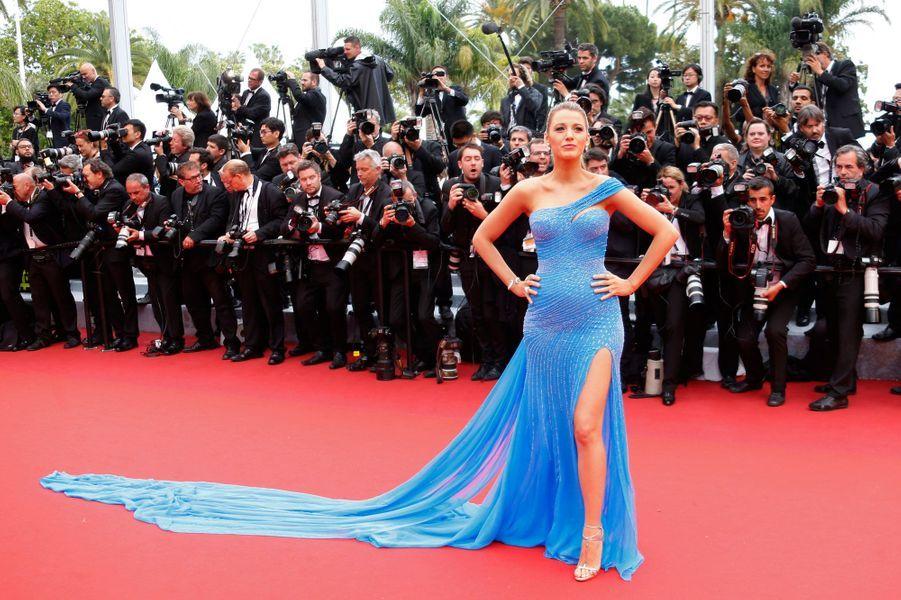Blake Lively au Festival de Cannes le 14 mai 2016