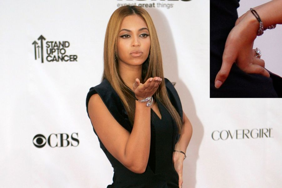Beyoncé, 18 carats (de Jay Z)