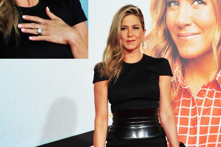 Jennifer Aniston, 8 carats (de Justin Theroux)