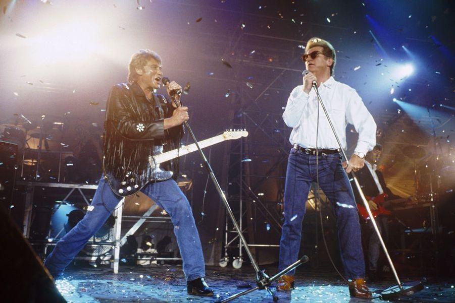 En duo avec Eddy Mitchell