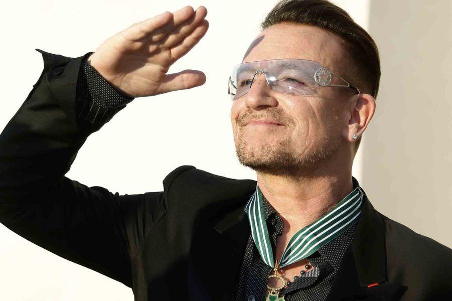 Le commandeur Bono honoré à Paris