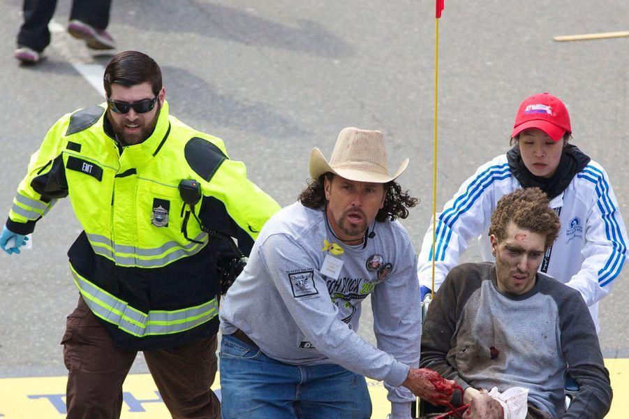 Le 15 avril 2013, Jeff Bauman était sauvé par Carlos Arredondo...