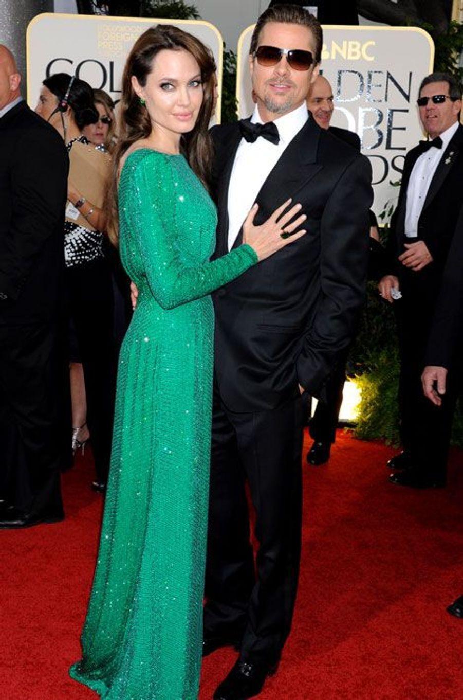 Aux Golden Globes (janvier 2011)