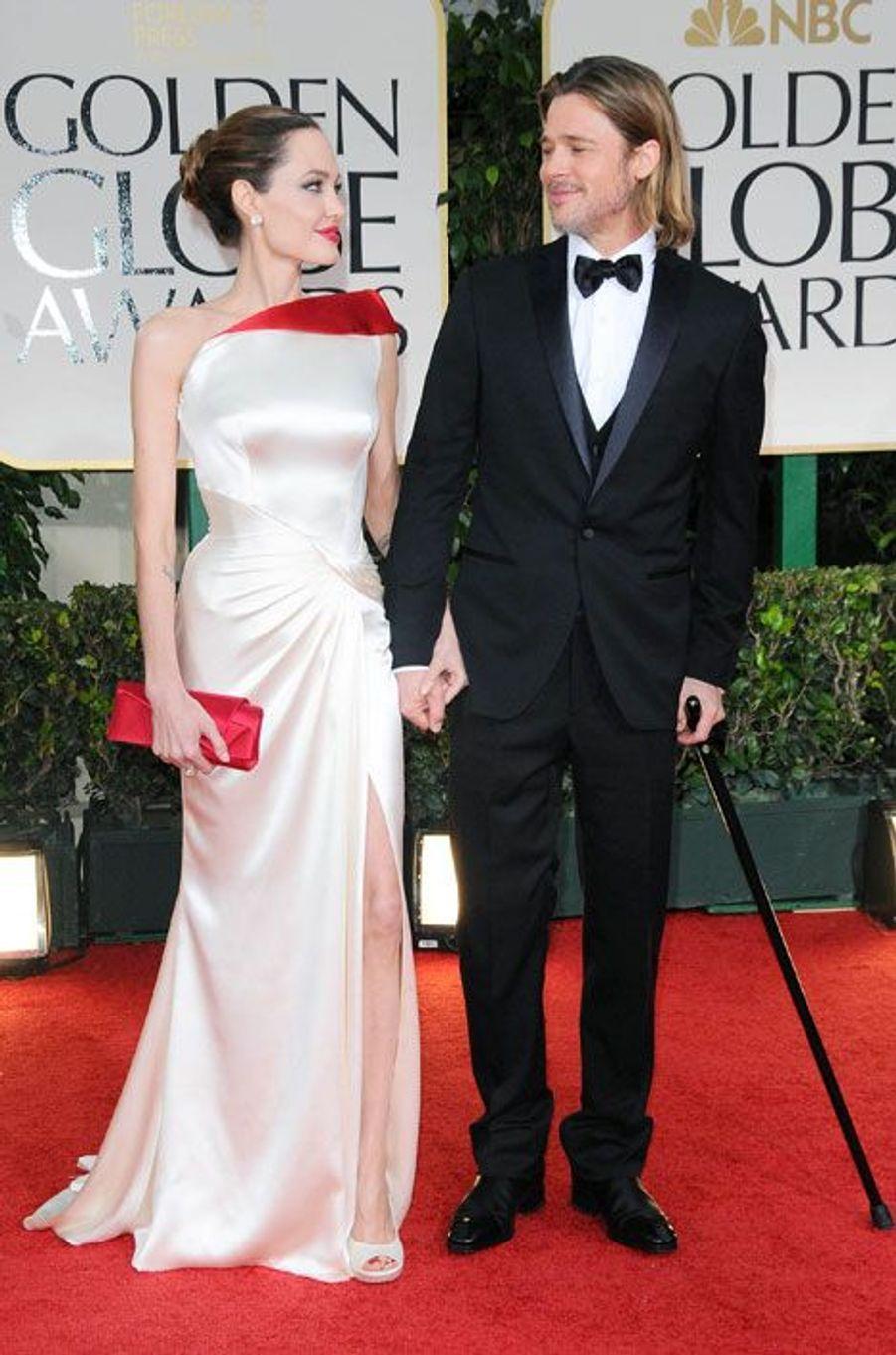 Aux Golden Globes, janvier 2012