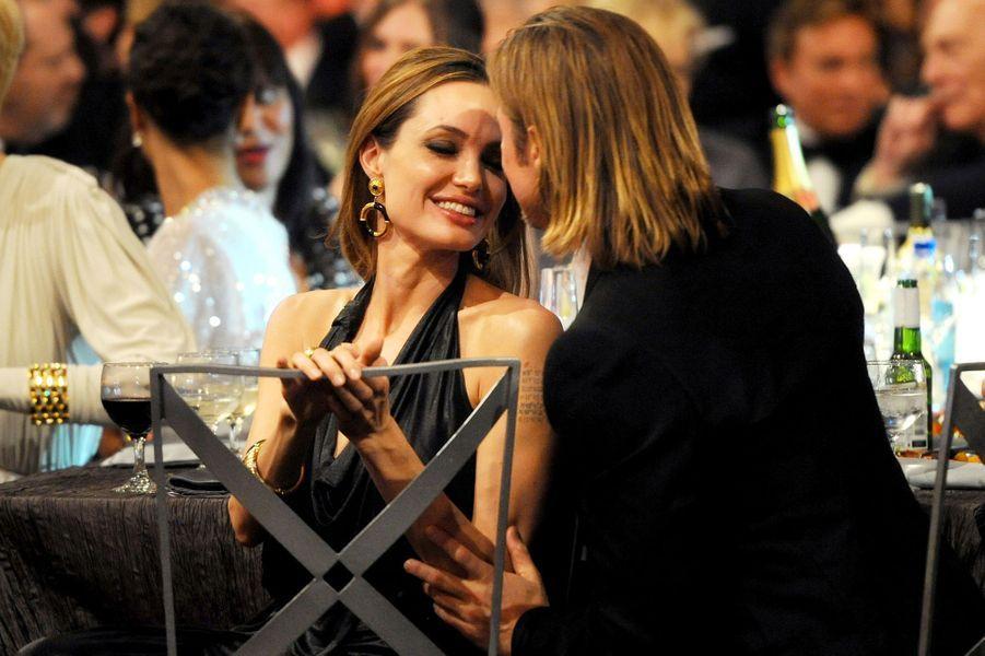 Aux Screen Actors Guilds Awards, décembre 2012