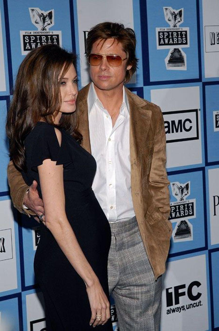Février 2008, enceinte