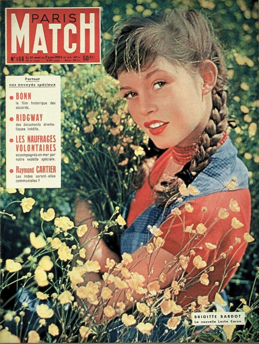 « Brigitte Bardot, la nouvelle Leslie Caron » - Paris Match n°168, 31 mai 1952