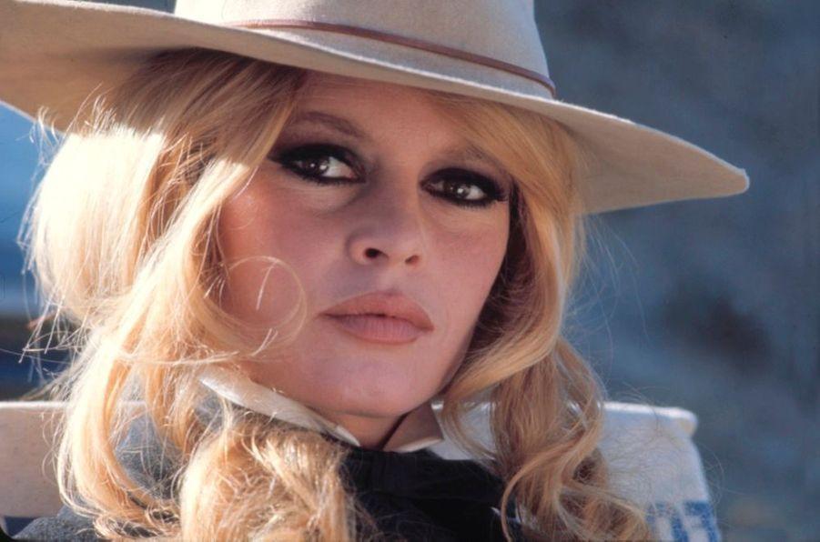 Brigitte Bardot en janvier 1968 sur le tournage de « Shalako » d'Edward Dmytryk.