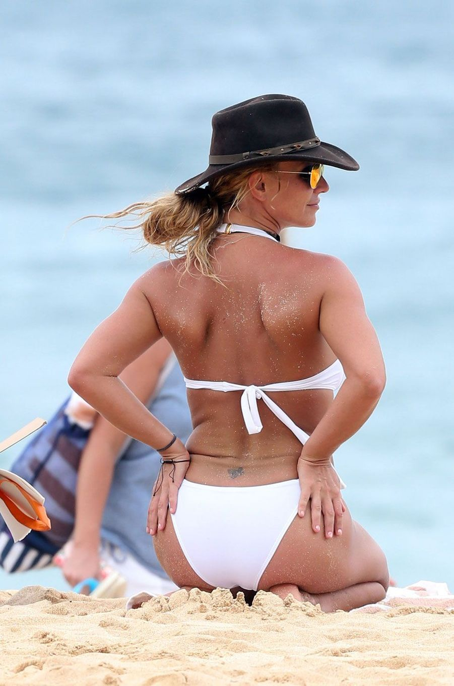 Britney Spears s'éclate à Hawaii.