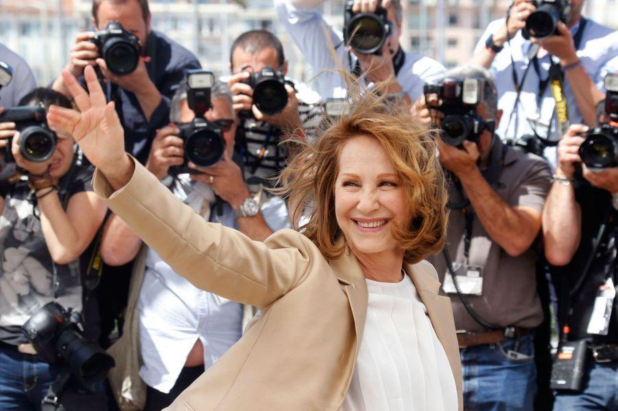 Nathalie Baye sur le tapis rouge à Cannes, 2016