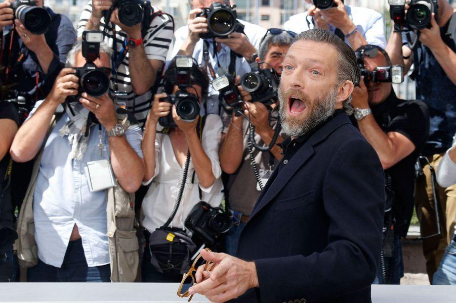 Vincent Cassel sur le tapis rouge à Cannes, 2016