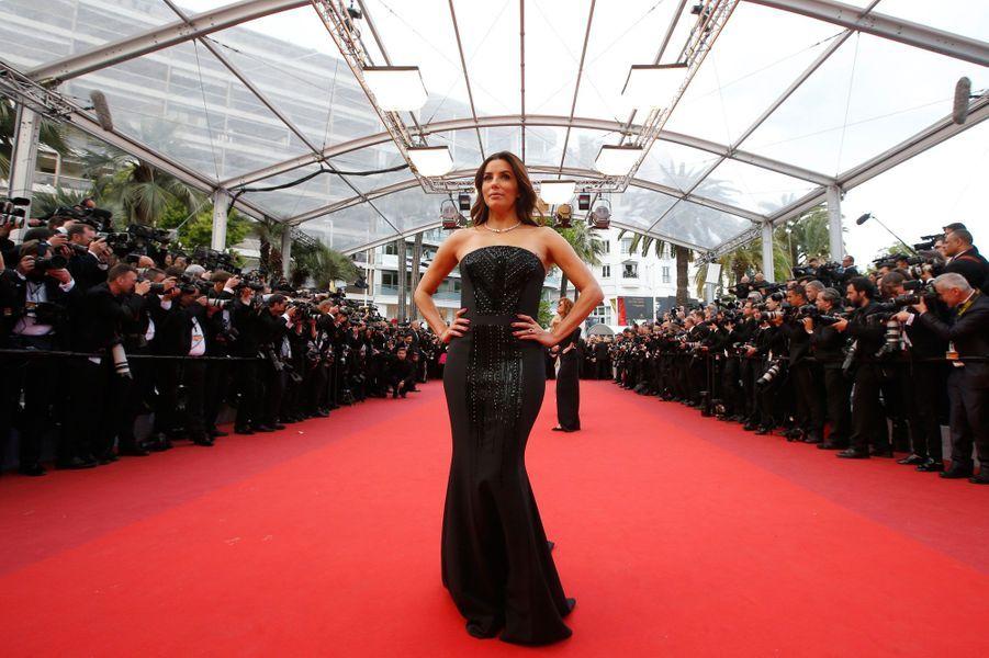 Eva Longoria, à Cannes, le 12 mai 2016.