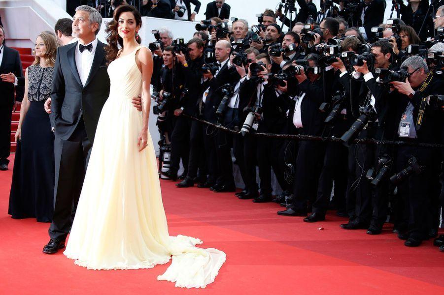 George Clooney et son épouse Amal, à Cannes