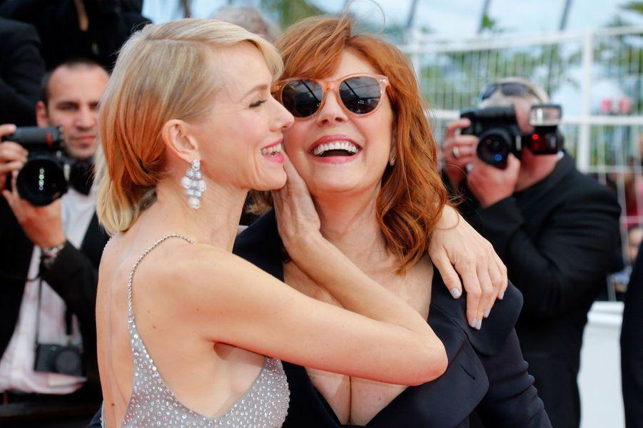 Naomi Watts et Susan Sarandon à Cannes