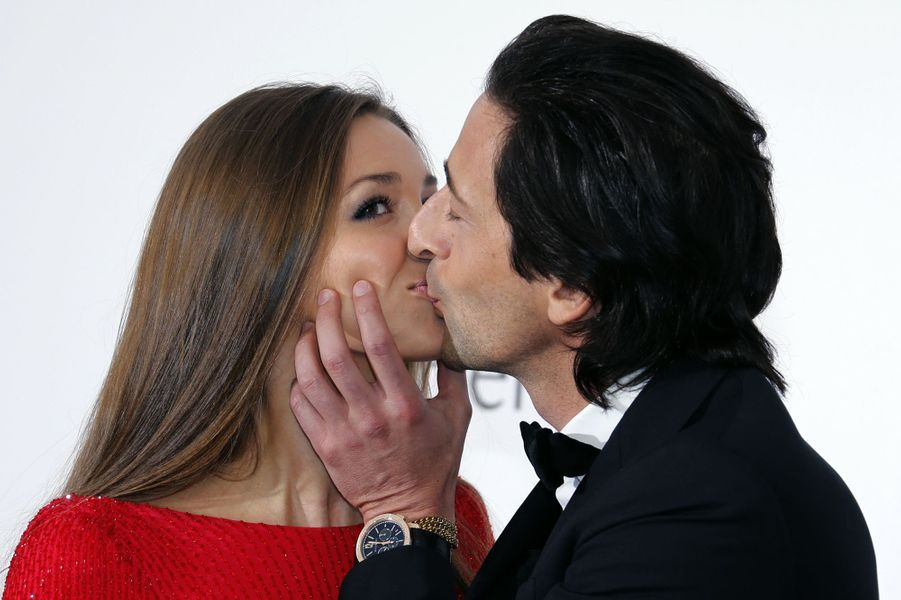 Adrien Brody et sa compagne Lara Lieto