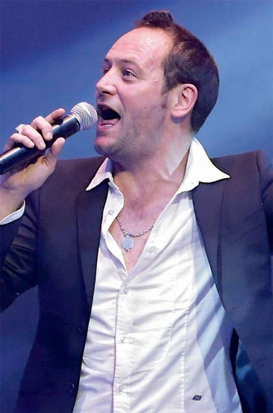 Christophe, le chanteur de Tryo.