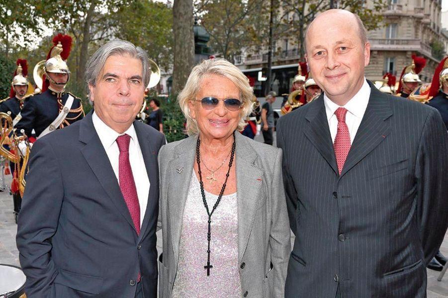 Pr Bruno Dubois, Véronique de Villèle, Olivier de la Doucette