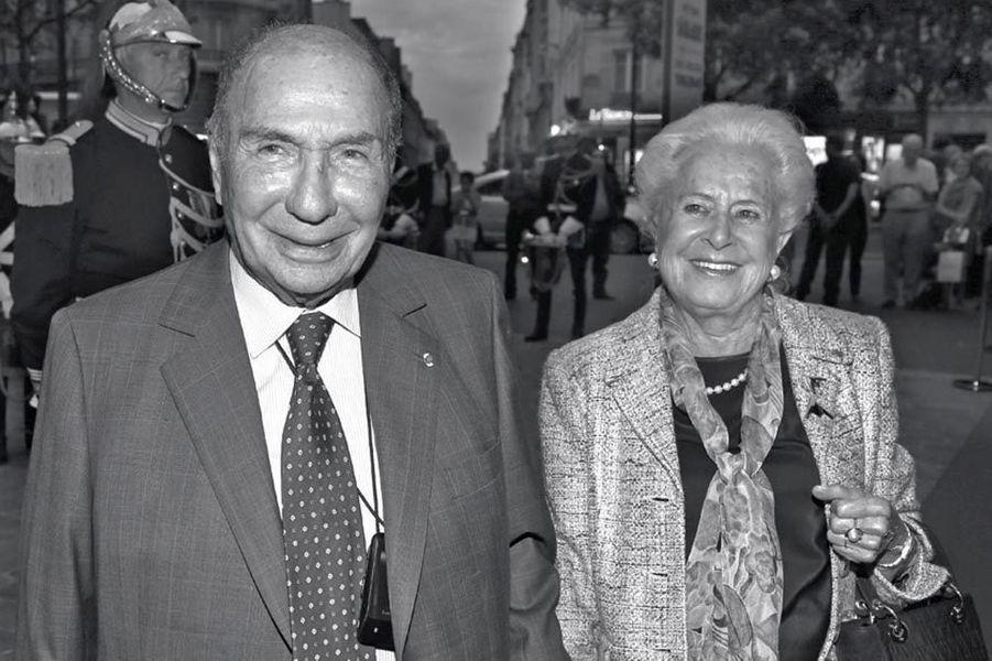 Serge et Nicole Dassault.