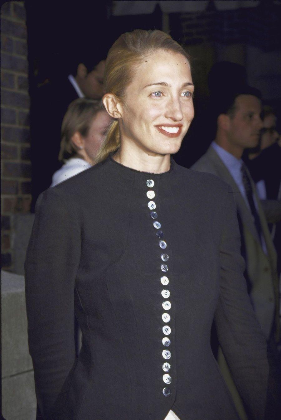 Carolyn Bessette Kennedy et John John, en juin 1998.