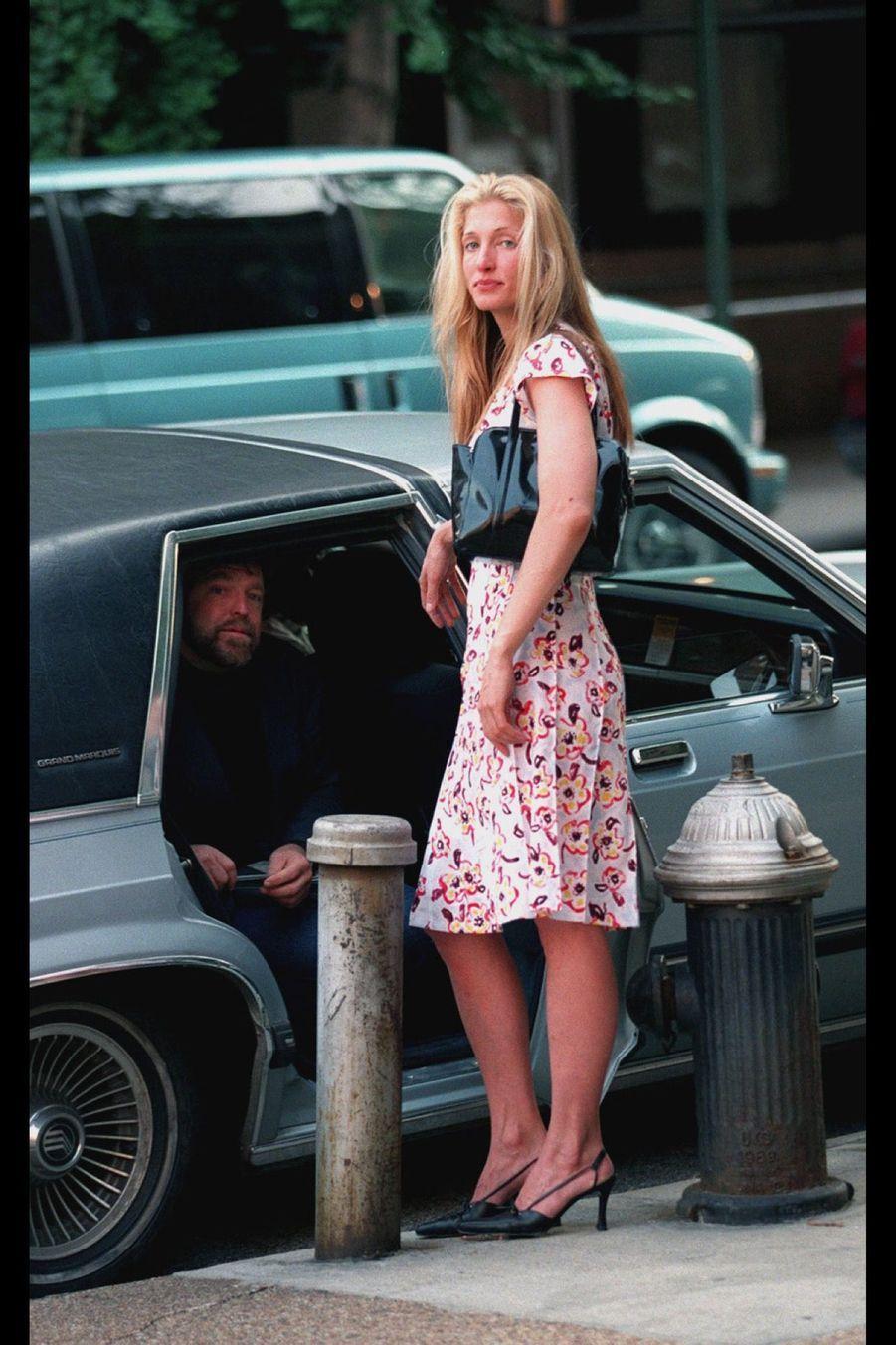 Carolyn Bessette Kennedy en juillet 1996.