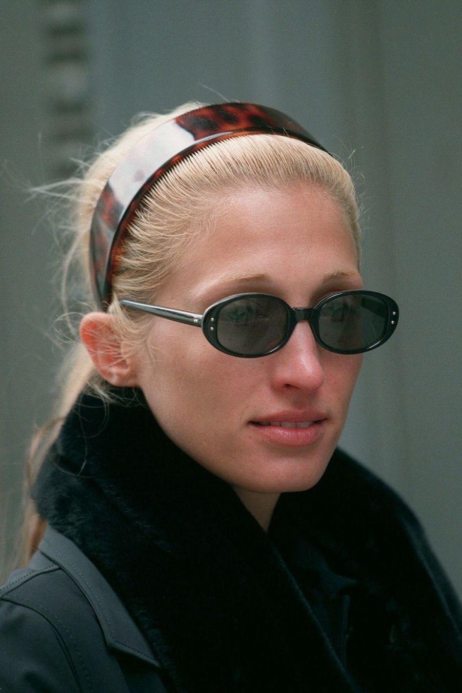 Carolyn Bessette Kennedy en octobre 1996.