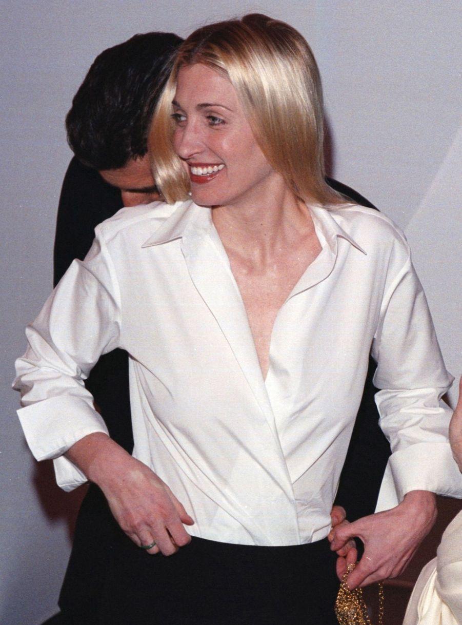 Carolyn Bessette Kennedy et John John, en mars 1999.