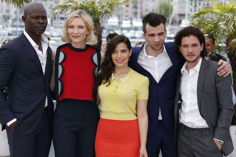 Djimon Hounsou, Cate Blanchett, America Ferrera, Jay Baruchel et Kit Harington