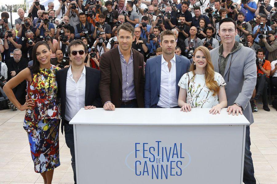 Rosario Dawson, Atom Egoyan, Ryan Reynolds, Scott Speedman, Mireille Enos et Kevin Durand