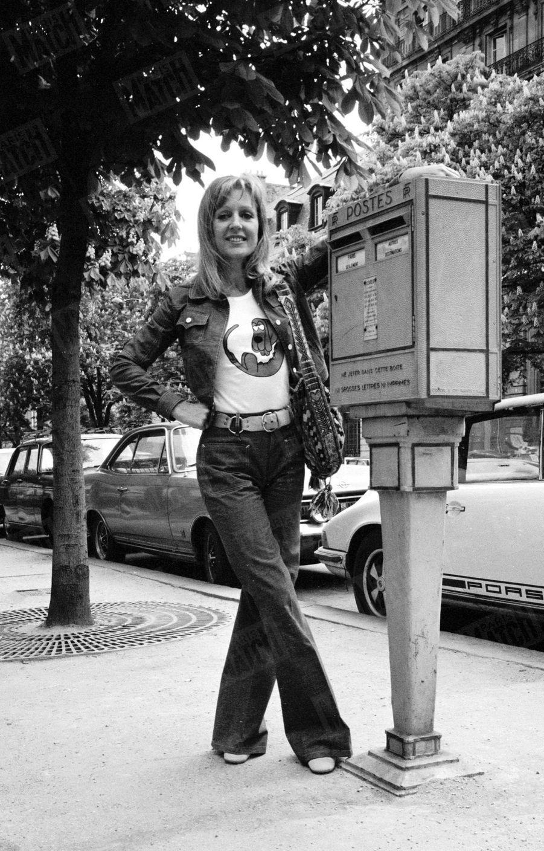 Catherine Rich pour Paris Match, en mai 1971.