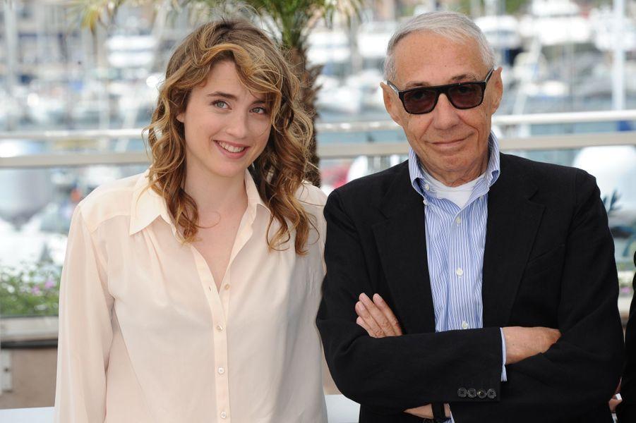 Adèle Haenel et André Téchiné
