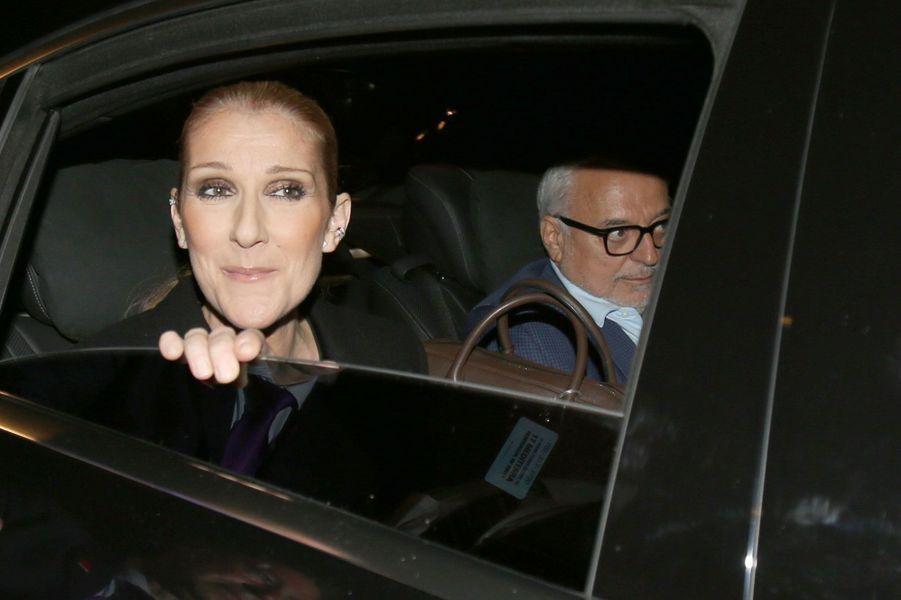 Céline Dion et son nouveau manager Aldo Giampaolo