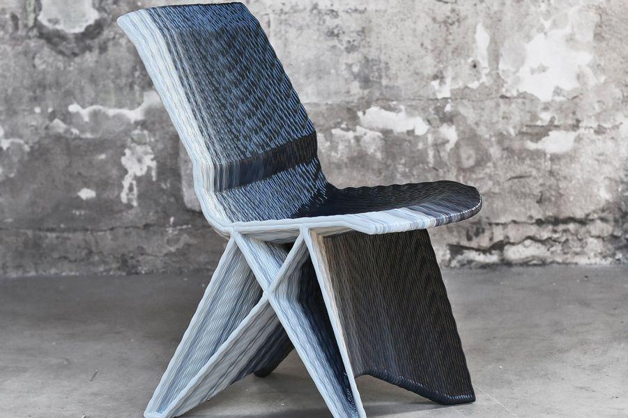Chaise imprimée en une seule fois DIRK VANDER KOOIJ Pays-Bas, 2010