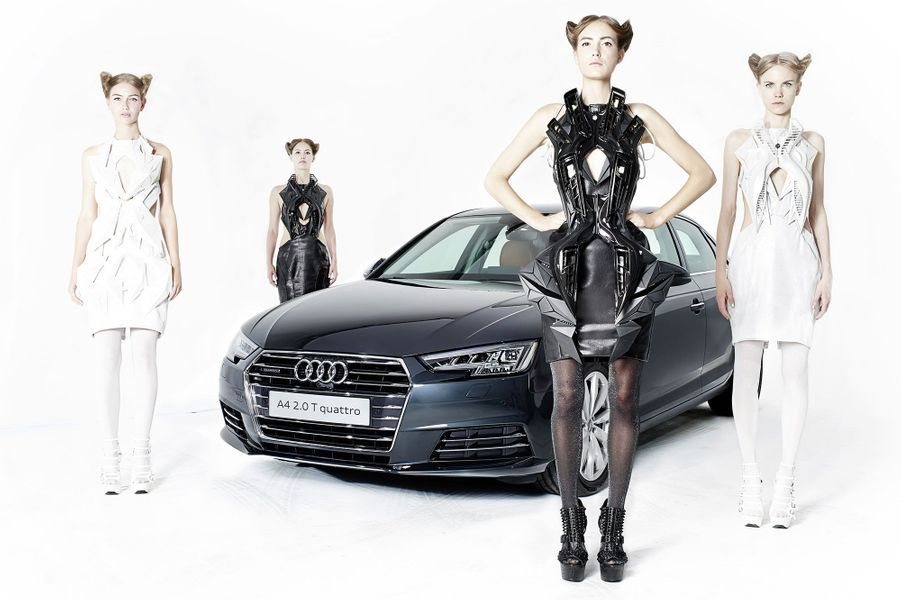 Collection de robes interactives ANOUK WIPPRECHT/AUDI Pays-Bas, 2015