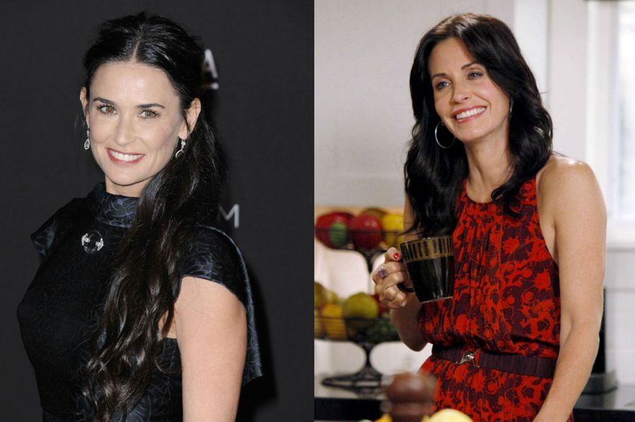 "Demi Moore à la place de Courtney Cox dans ""Cougar Town"""