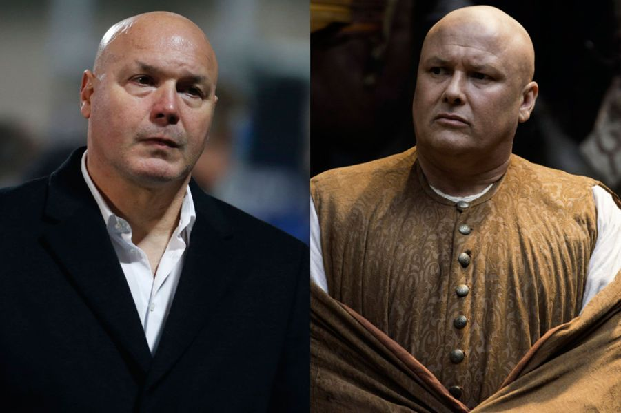 "José Anigo à la place de Conleth Hill dans ""Game of Thrones"""