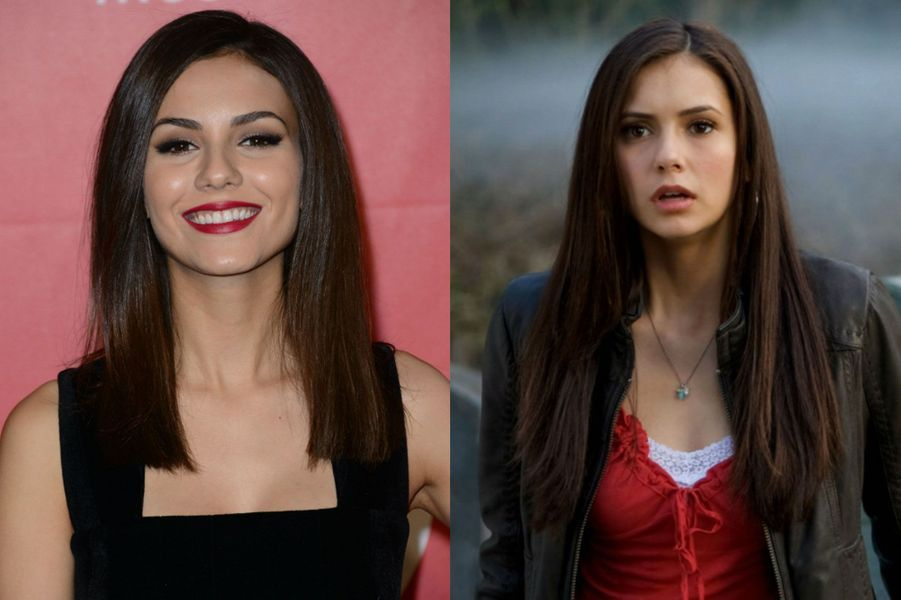 """Victoria Justice à la place de Nina Dobrev dans """"Vampire Diaries"""""""