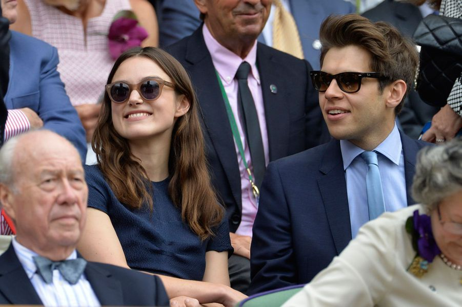 Keira Knightley et James Righton, Mazan, 4 mai 2013