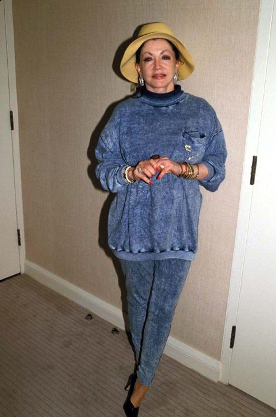 Jackie Stallone la maman de Sylvester en 1987