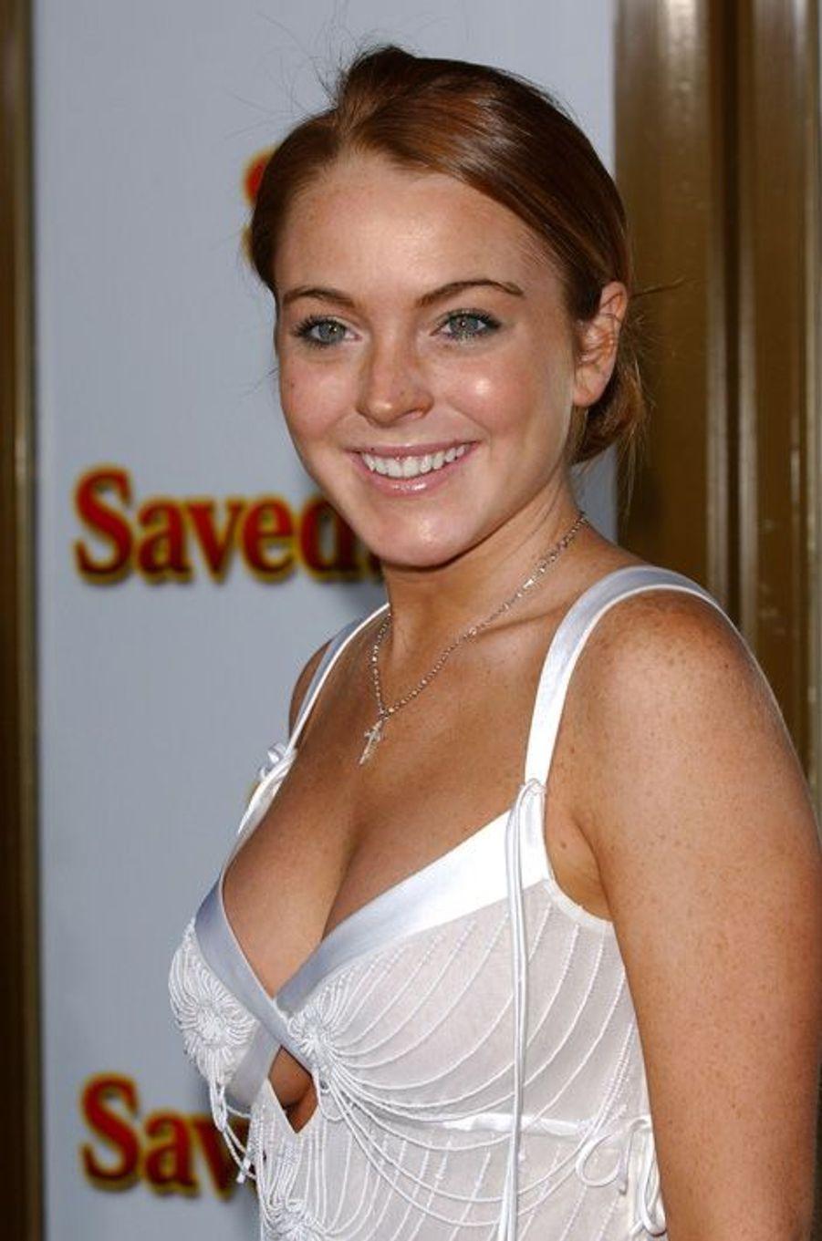 Lindsay Lohan en 2004