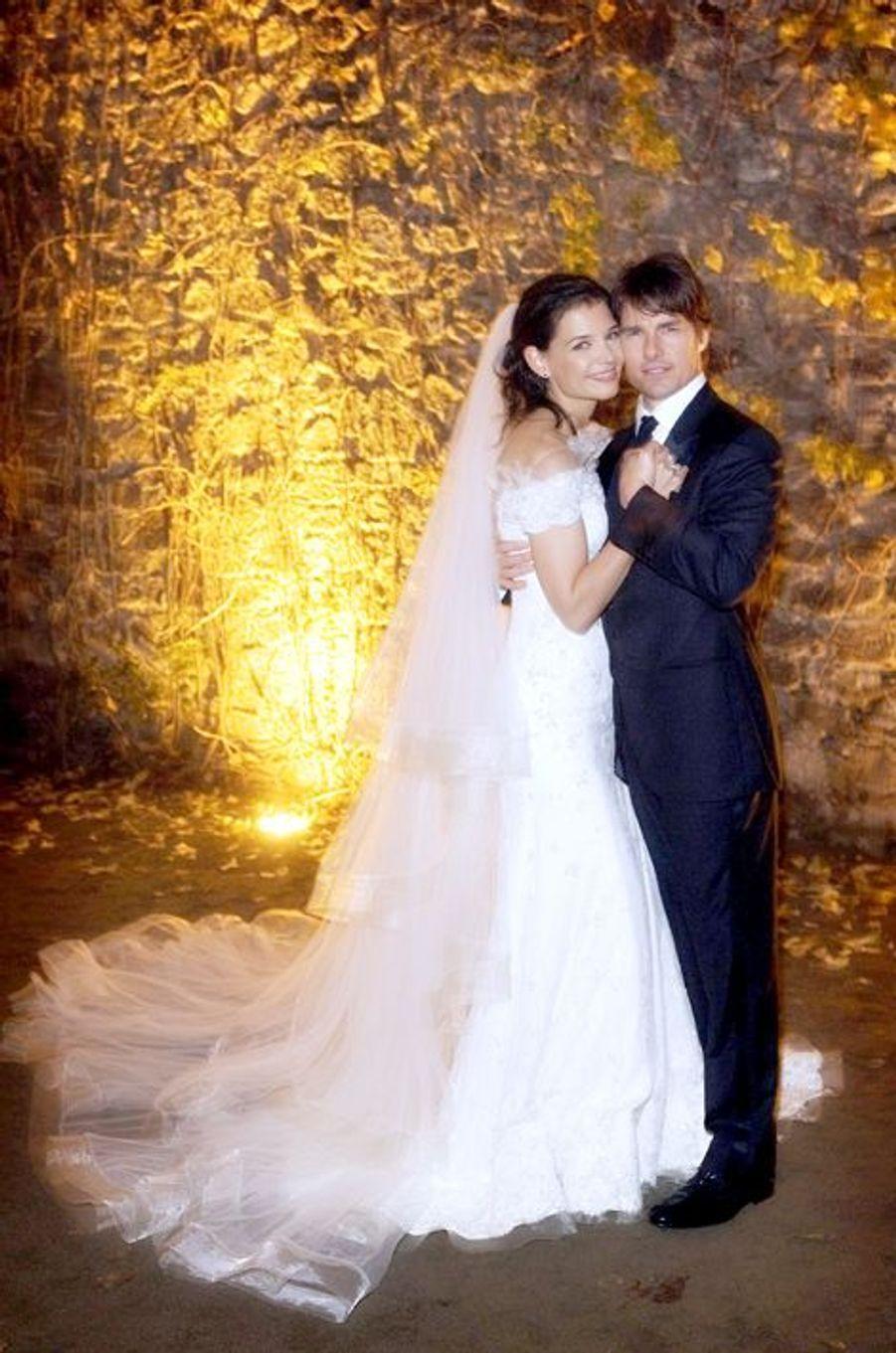 Katie Holmes et Tom Cruise, mariés le 18 novembre 2006