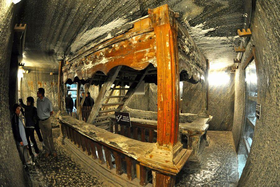L'ancienne mine Salina Turda en Roumanie
