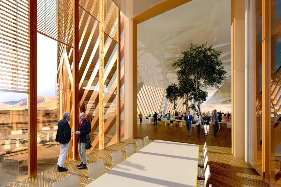 Cette tour autosuffisante sera une ville du futur