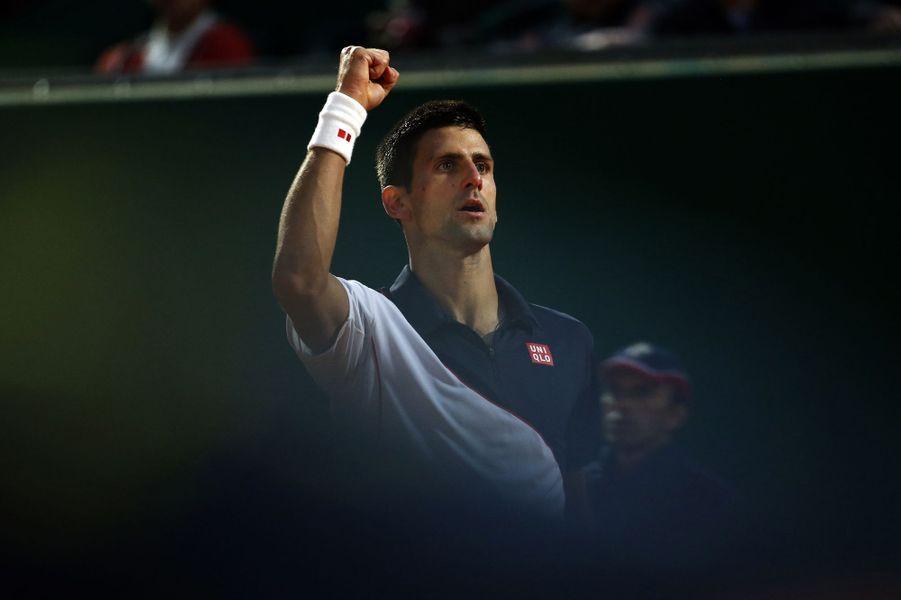 Novak Djokovic s'est également qualifié pour les demi-finales